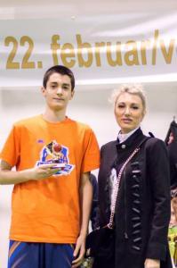 Nikola Micic - najbolji strijleac turnira (1)